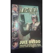 Revista Heroi Gold 47 Sampa Juiz Dredd Power Rangers Kiss