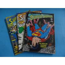 Hq Super Homem N°64-77-78 Ed. Abril Gibi Antigo Dc Comics