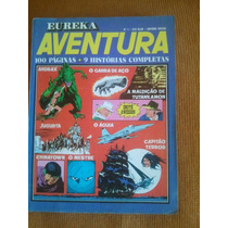 Eureka Aventura Numero 1 - Editora Vecchi - Março 1977