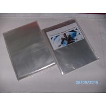 Kit C/50 Sacos Plásticos P/ Gibis:formato Americano(18x30cm)