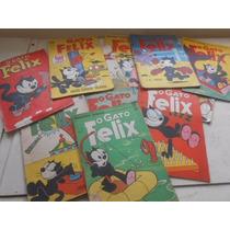 Revistas O Gato Felix Anos 60 Lote Fechado Com 13 Compre Já