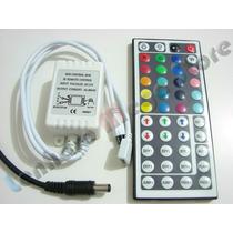 Controle Remoto Para Fita Led Rgb 3528 E 5050 Com 44 Teclas