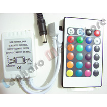 Controle Remoto P/fita Led Rgb 3528 / 5050 Com 24 Teclas