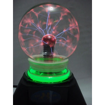 Globo De Plasma Pequeno Sphere Bola Cristal