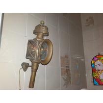 Antiga Lamparina Decorativa Linda Peça Funcionando