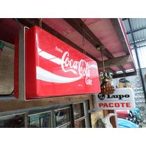 Luminoso Antigo Coca Cola