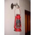 Antigo - Lampião Lata De Querosene Da Marca Sun Way China