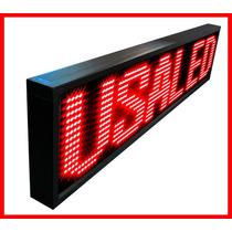 Painel De Led, Letreiro Digital Luminoso 167cm X 40cm