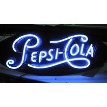 Placas Retrô Decorativas Em Neon Marcas De Cervejas Coca