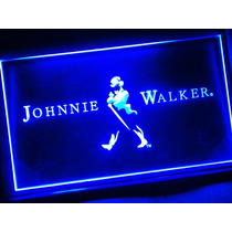 Johnnie Walker - Luminoso Estilo Neon