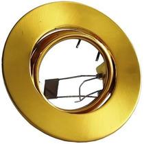 Spot Embutir Direcionável Universal Gu10/e27/mr16 Dourado