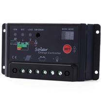Painel De Controlo De Carga Da Bateria Controlador 30a Solar