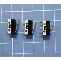 Kit 3 Micro Endstop / Fim De Curso Impressora 3d Cnc Router