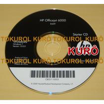 Cd Instalação Impressora Hp Officejet 6000 (7) Frete Grátis