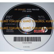 Cd De Instalação Impressora Hp Deskjet 1000 - Frete Grátis