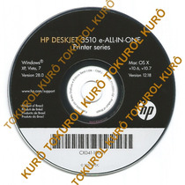 Cd De Instalação Impressora Hp Deskjet 3516 (xv7)