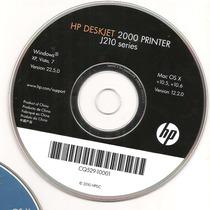 Cd De Instalação Para Impressora Hp Deskjet 2000 Peinter.