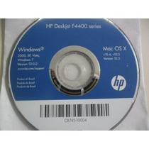 Cd De Instalação Para Impressora Hp Deskjet F4400 Series.