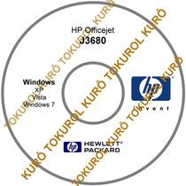 Cd De Instalação Impressora Hp J3680 (xv7) - Frete Grátis