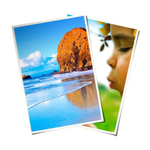 Papel Glossy Fotográfico Brilhante Laser 200g A4 500 Folhas