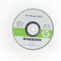 Cd Instalacao Da Imp Hp Officejet J3600 001