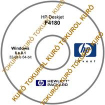 Cd De Instalação Impressora Hp F4180 (8_8.1) Frete Grátis