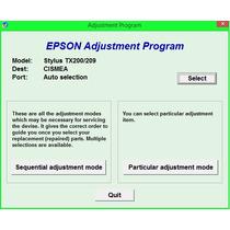 Reset Impressora Epson Tx200