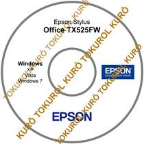Cd De Instalação Impressora Epson Tx525fw (xv7)