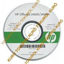 Cd Instalação Impressora Hp Officejet J4660 / J4680 (2xv)