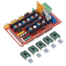 Kit Shield Ramps 1.4 Impressora 3d + 5 Drive A4988