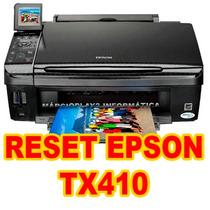 Reset Impressora Epson Tx410 ( Destravar- Almofada)