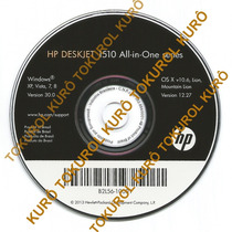 Cd De Instalação Impressora Hp Deskjet 1516 (xv78)