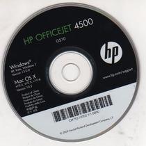 Cd De Instalação Para Impressora Hpofficejet 4500