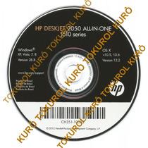 Cd De Instalação Impressora Hp Deskjet 2050 F2050 (xv78)