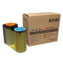Ribbon Cs2 Para Cs200e Hiti Colorido.