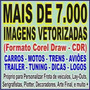 +7000 Imagens Vetor:carros Motos Trens Aviões Tuning Logos