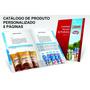 Catálogo De Produtos Personalizado 8 Pág. Impresso