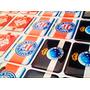 Adesivo / Etiquetas Resinadas Personalizadas Bandeiras