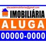 Placas De Imobiliárias Em Poliestireno (ps), 32x40