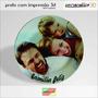 Prato Em Porcelana Personalizado 3d! 100% Impresso