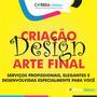 Criação De Arte Final Design Arte Gráfica Digital