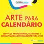 Arte Para Calendário Criação Criar Calendário 2016