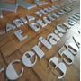 Letra Caixa Letreiro Fachada 10 Cm X 25 Mm Esp. Uso Externo