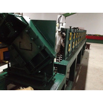 Máquia Perfil Drywall Steel Framing Porta Raiada U C