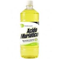 Acido Clorídrico 8% 1lt Produto De Excelente Procedência !!!