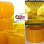Pvc Amarelo Anti Inseto Para Cortinas Em Tiras Com Citronêla