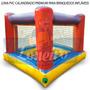 Lona Pvc Para Brinquedo Inflável Emborrachada 30 X 1,57 Mts