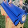 Tecido De Lona Vinil 15 X 1,57 Mts Azul Pvc Sem Acabamento