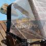 Lona 10x6 Transparente Crystal Cobertura Toldo Capa 400micra