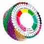 Alfinetes Cabeça Bola Coloridos 480 Pçs Costura Patchwork
